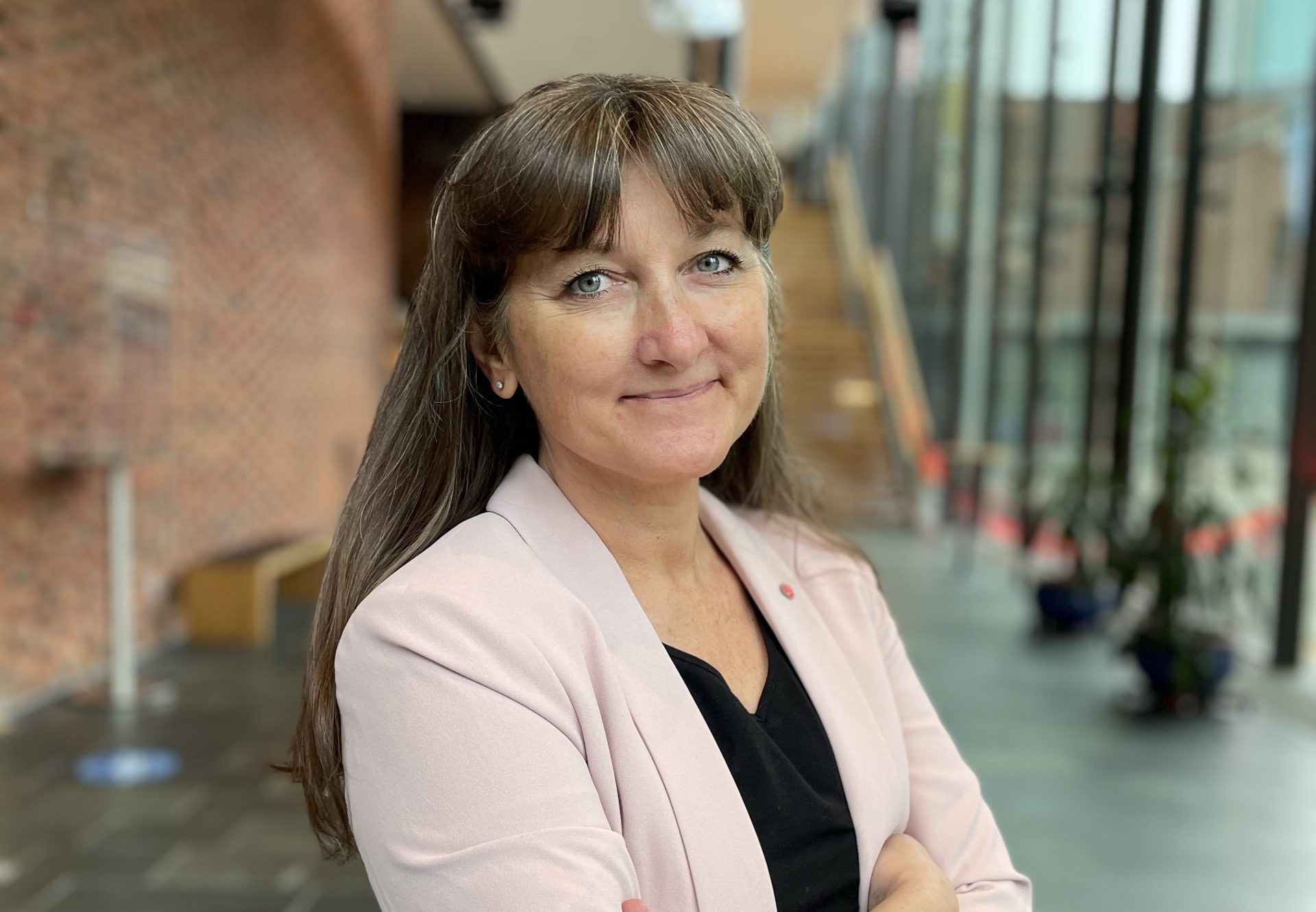 Lena Johansson trea på Socialdemokraternas riksdagslista